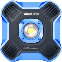 Oplaadbare 20W werklamp met powerbank - 2.000mAh
