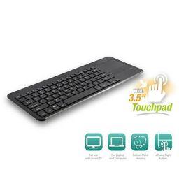 Draadloos toetsenbord met touchpad, bluetooth, azerty