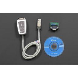 USB naar RS422 / RS485 kabel Kabellengte: 1.2m software. Kabellengte: 35cm.