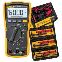 FLUKE-115 multimeter met gratis TLK225 accessoireset