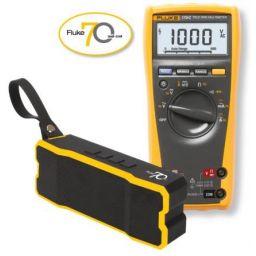 FLUKE-179 EGFID - True RMS multimeter met temperatuur- meting - Met gratis Fluke Bluetooth Speaker