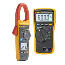 Fluke 376 1000A - TRMS ampèretang met gratis Fluke 114 elektrische multimeter - Promo