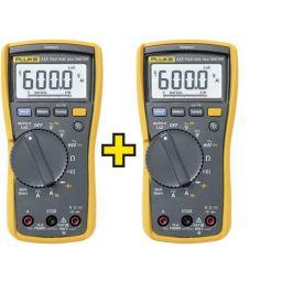 Multimeter met contactloze spannings- zoeker - Twin pack - 2 stuks