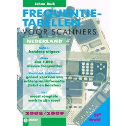 Frequentietabellen voor scanners - 2008-2009