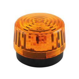 Elektronische flitslamp 12VDC - Oranje - LED