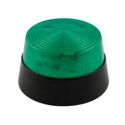 Elektronische LED flitslamp 12VDC- Groen -
