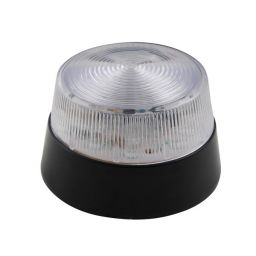 Elektronische LED flitslamp 12VDC- Wit