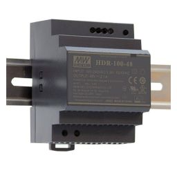 Compacte voeding voor DIN RAIL Meanwell 12V 100W HDR100.