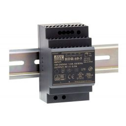 Industriële voeding voor DIN RAIL / Meanwell / 24V 60W 2,5A