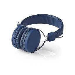 Draadloze Bluetooth over-ear hoofdtelefoon - Blauw