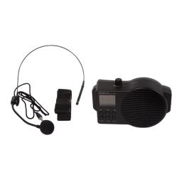 Mobiele spraakversterker met USB/SD en FM-radio