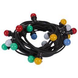 Led feestslinger met 20 gekleurde RGB ledlampen - 15GF19