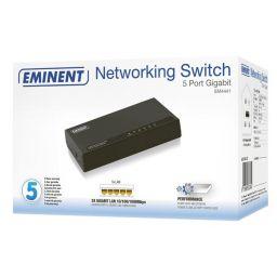 EMINENT - 5-poort Gigabit netwerkswitch