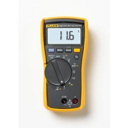 Multimeter met temperatuur- en microampèremeting HVAC