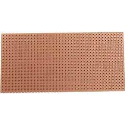 Testprint 50x100mm met soldeereilandjes