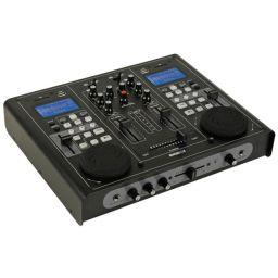 Dubbele USB/SD-speler en audiomixer ***