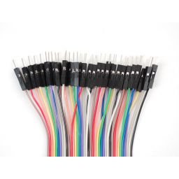 """Premium Male/male jumper wire 40x6"""" (150mm)"""