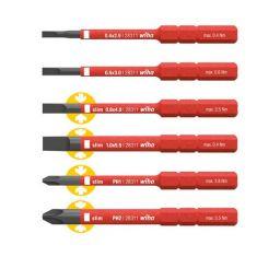 SlimBit pack, sleufkop/Philips 6 delig