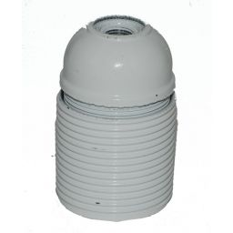 E27 fitting bakeliet voldraad 4A/250V kleur: wit
