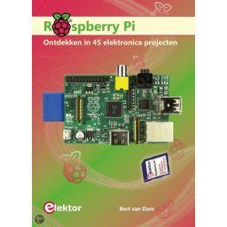 Raspberry Pi ontdekken in 45 elektronica projecten.