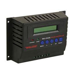 30A-12/24VDC laadregelaar max. 30A