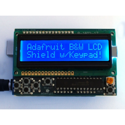 LCD Shield Kit w/ 16x2 display Blue&White - only 2 pin used