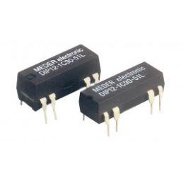 DIP/DIL Reedrelais 12V 1A 500ohm SPDT wisselcontact + Diode