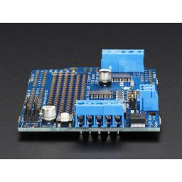 Adafruit Motor Stepper Servo shield voor Arduino - v2.3