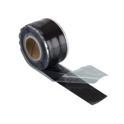 HPX - Stretch & fuse tape black 25mm x3m