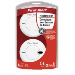 SA702CE - 2 optische rookmelders - First Alert