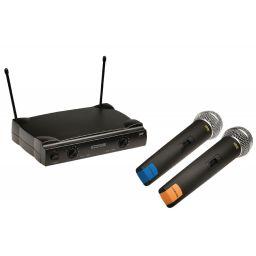 Microfoonsysteem met twee microfoons
