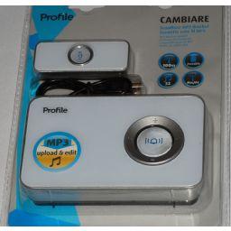 Draadloze MP3 deurbel CAMBIARE