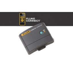 Gebruik de Fluke Connect app mbv de IR3000 FC connector.