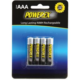 Herlaadbare AAA-batterijen - 1,2V 1000mAh - NiMH - 4 stuks