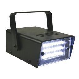 Miniatuur witte ledstroboscoop - 24 LEDs