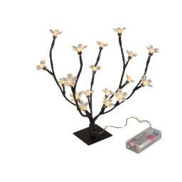 Verlichting met LED bloemen