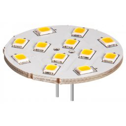 LED spotlight 2W - G4 - 12V - 190lm 6200K