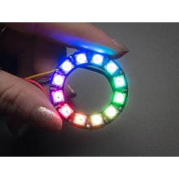 NeoPixel Ring - 12 x WS2812 5050 RGB-LED with integrated drivers