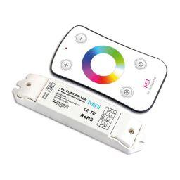 RF RGB-controller met afstandsbediening - 12/24VDC - 3A/kanaal