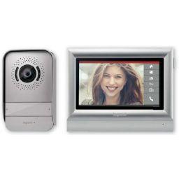 """Kit videofonie met kleuren 7"""" touchscreen - Uitbreidbaar voor 2-gezinswoningen"""
