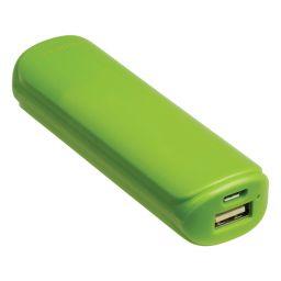Powerbank 2200 mAh 5 V - 1 A groen