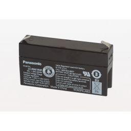 Herlaadbare Lood Accu - 6V / 1,3Ah - L97 x D25 x H57mm
