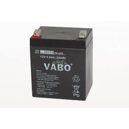 Herlaadbare Lood Accu - 12V / 5,0Ah - D70 x B89 x H102mm