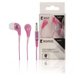 In-ear oortelefoon - Roze