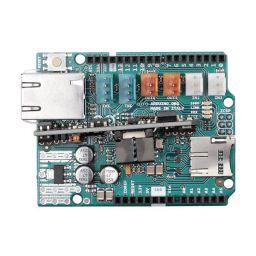 Arduino Ethernet shield 2 met PoE module