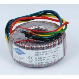 Ringkerntransformator 100VA 2x9V 5,5A
