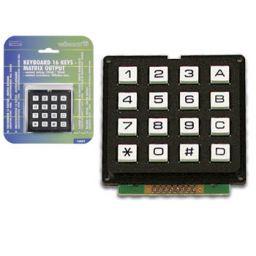 Toetsenbord 16 toetsen - matrixuitgang