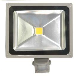 30W -3200K PIR LED *** schijnwerper voor buitenshuis (IP65) - Warm wit