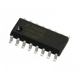 Dual 4-channel analog multiplexer SMD