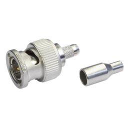 BNC connector - Mannelijk - 50 ohm - Krimpuitvoering